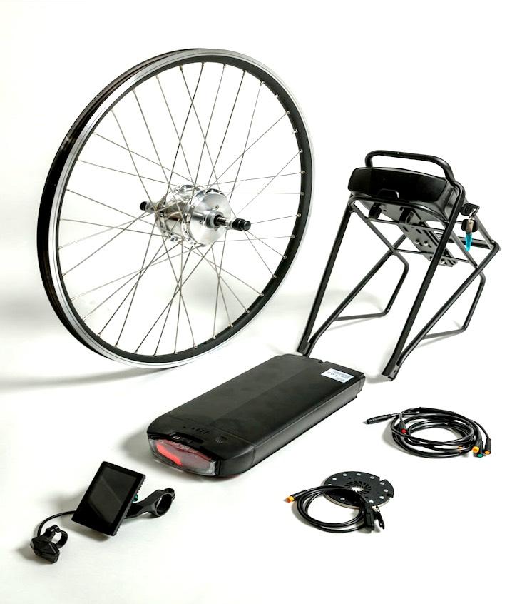 Comfort achterwiel-motor